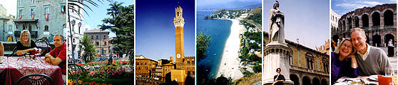 Our favorite Italian cities.