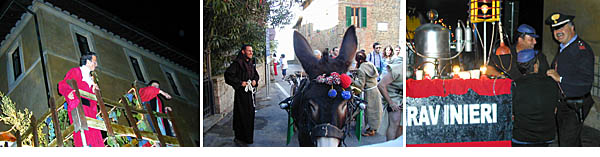The Annual Grape Harvest Festival in Panicale, Umbria