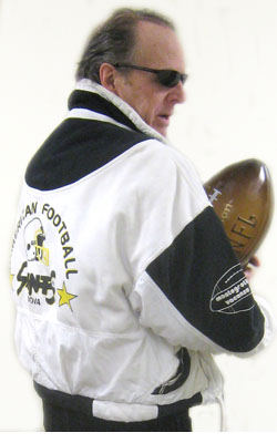 Padova saint he ain't Stew Vreeland in Padova Saints american footbal club jacket